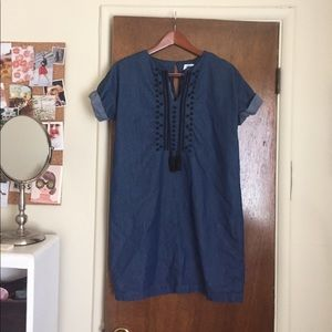 Old Navy chambray sundress